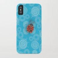 ladybug iPhone & iPod Cases featuring Ladybug by JoonMoon