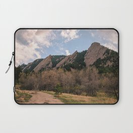 Flatirons Sunset Laptop Sleeve