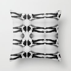 we are many Throw Pillow