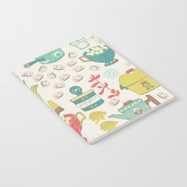 Pasta & Vintage dishes Notebook