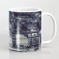 budapest Mugs featuring Budapest by farsidian