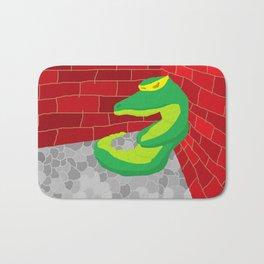 Upset Crocodile Bath Mat