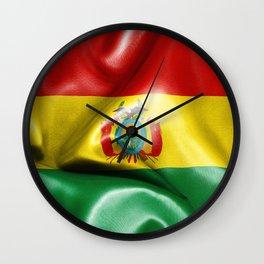 Bolivia Flag Wall Clock