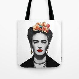 Mexican Beauty Portrait Artwork for Women Men and Kids Tote Bag