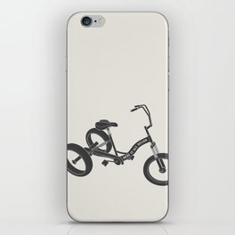 tricycle 02 iPhone Skin