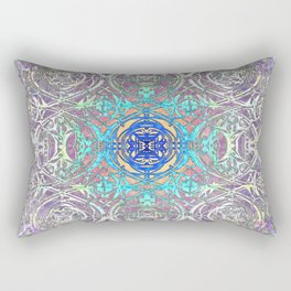 Psychedelic Ironwork Rectangular Pillow