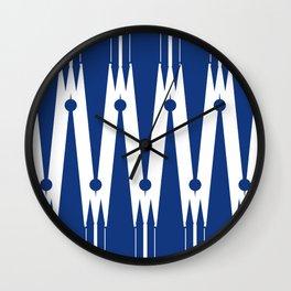 Tower Chevron Wall Clock