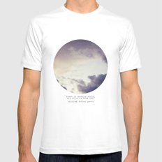 There Is Another World Mens Fitted Tee White MEDIUM