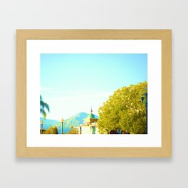 Next to the GLASS Framed Art Print