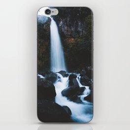Dawson Falls iPhone Skin