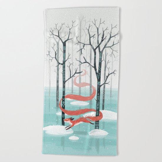 Forest Spirit Beach Towel