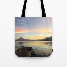 Lake Atitlan Sunsets Tote Bag
