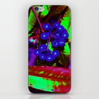 willy wonka iPhone & iPod Skins featuring WONKA berries by TLCGATOR