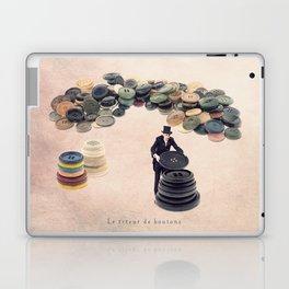 The button sorter Laptop & iPad Skin