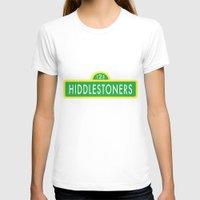 sesame street T-shirts featuring Hiddlestoners Sesame Street by Rowena Leavy