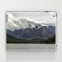 Clouds Over Mt Gould Laptop & iPad Skin
