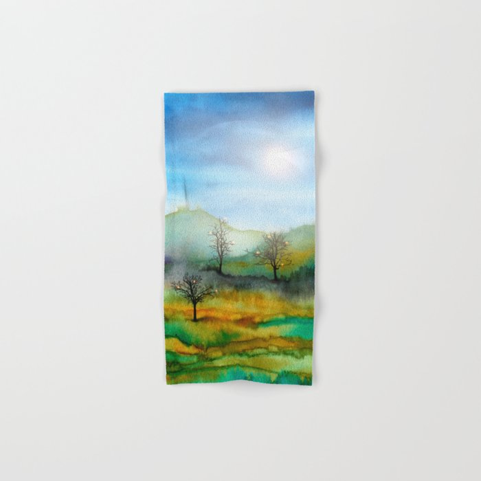 Christmas In The Woods Hand & Bath Towel