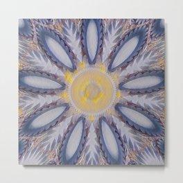 New Color Pyramidal Mandala 58 Metal Print