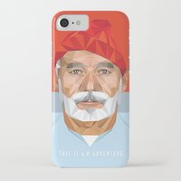 bill murray iPhone & iPod Cases featuring BILL MURRAY by Joemetric