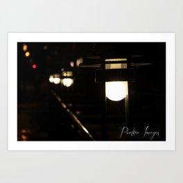 Path of Light Art Print