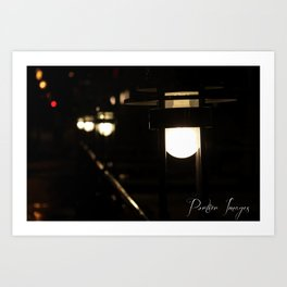 Path of Light Art Print
