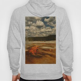 Hot And Colorful Thermal Area Hoody