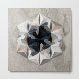 Origami Oh-Three-Oh Metal Print