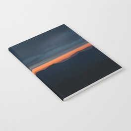 White Mountain Sunrise Notebook