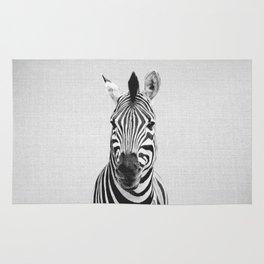 Zebra - Black & White Rug