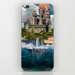 Book Castle iPhone Skin