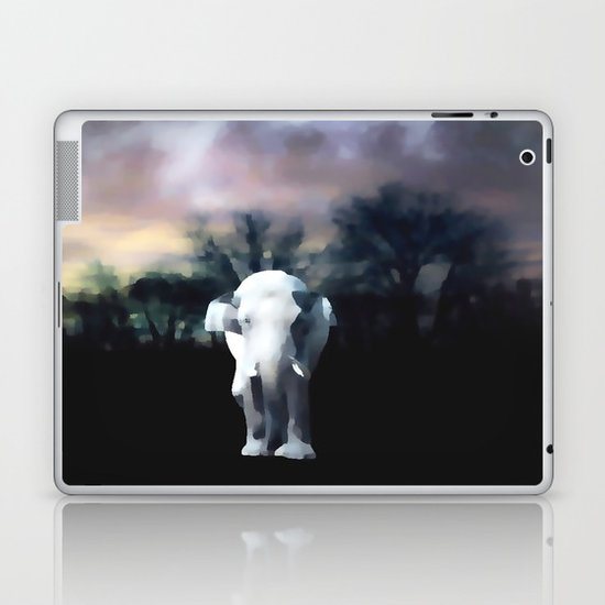 I heart the Elephant Laptop & iPad Skin
