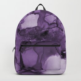 Color me purple- Abstract Painting Backpack