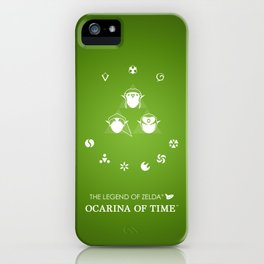 Zelda Ocarina of Time iPhone Case