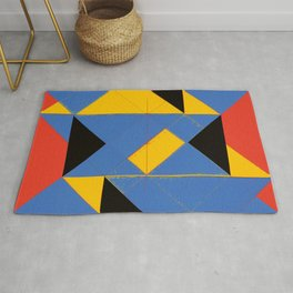 Logical Painting no.1 Rug