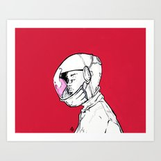 Fly With Me Art Print