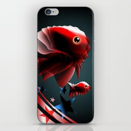 Angel Fish iPhone Skin