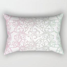 Cotton Candy Fretwork Rectangular Pillow