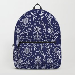 Flower medallion Backpack