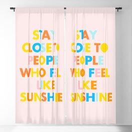 Sunshine People Blackout Curtain