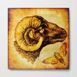 The mystic sheep Metal Print