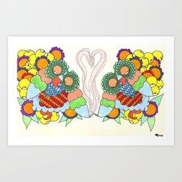 Best Friends Art Print