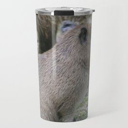 adorable capybara baby Travel Mug