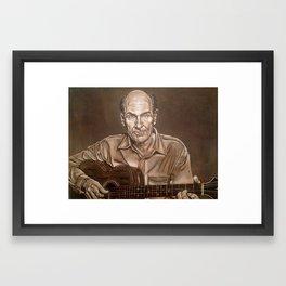 James Taylor Framed Art Print