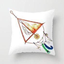 FIRE SAGITARIUS Throw Pillow