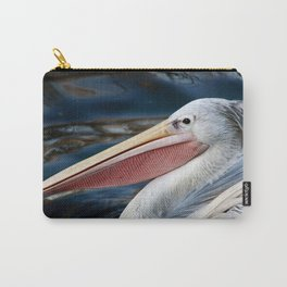Pink Backed Pelican Carry-All Pouch