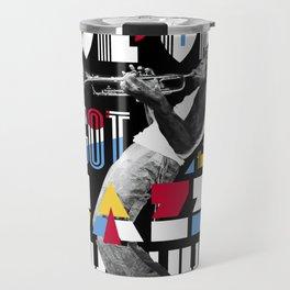 Jazz Monkey Travel Mug