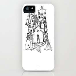 Home On A Fish iPhone Case