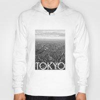 tokyo Hoodies featuring TOKYO by Rothko