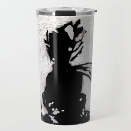 The little prince and the fox - stencil for the LIFE CURRENT WALL series Travel Mug