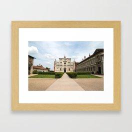 Certosa di Pavia Framed Art Print